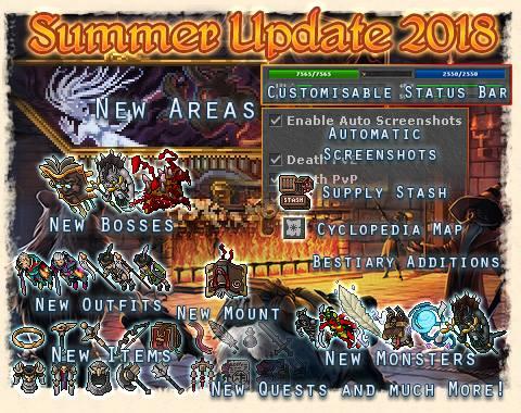 summer update 2018