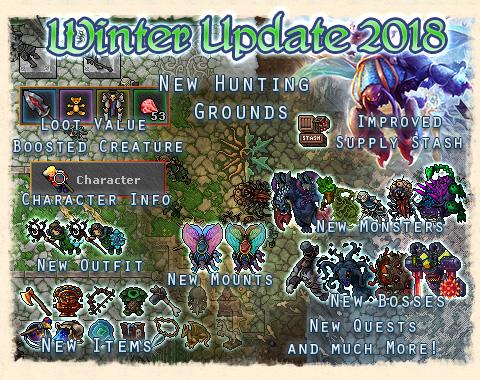 Winter update 2018 - Tibia